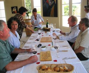 Beausejour Becot dinner 300x245 Chateau Beau Sejour Becot St. Emilion Bordeaux Wine