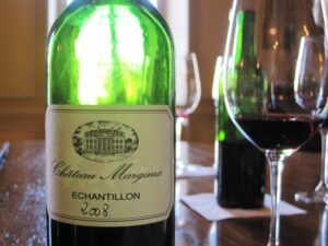 Margaux bottle 300x225 Lynched at Lynch Bages, lunched at Ducru, tasted at Margaux, Pichon