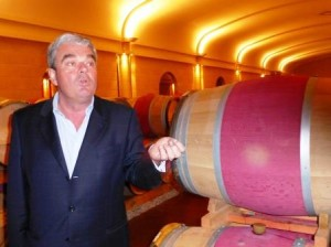 Olivier Bernard Barrel Room 300x224 Domaine de Chevalier Graves Pessac Leognan Bordeaux Wine