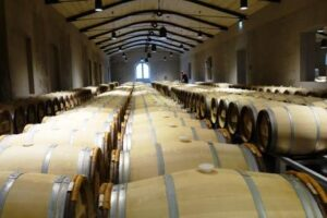 Palmer Barrel Cellar 1 300x200 Chateau Palmer Margaux Bordeaux Wine, Complete Guide