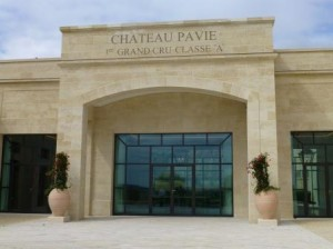 Pavie Cellars Entrance 300x224 Chateau Pavie St. Emilion Bordeaux Wine