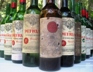 Petrus bottles 300x232 Petrus Pomerol Bordeaux Wine, The Complete Guide