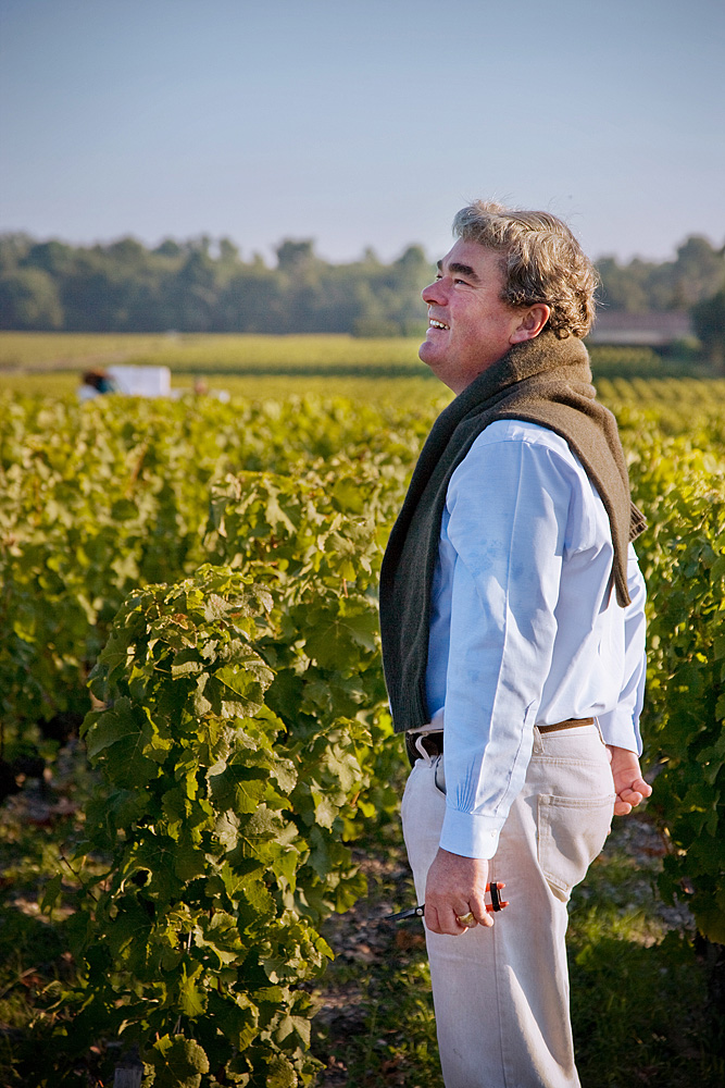 2010 Domaine de Chevalier Harvest Olivier Bernard Interview