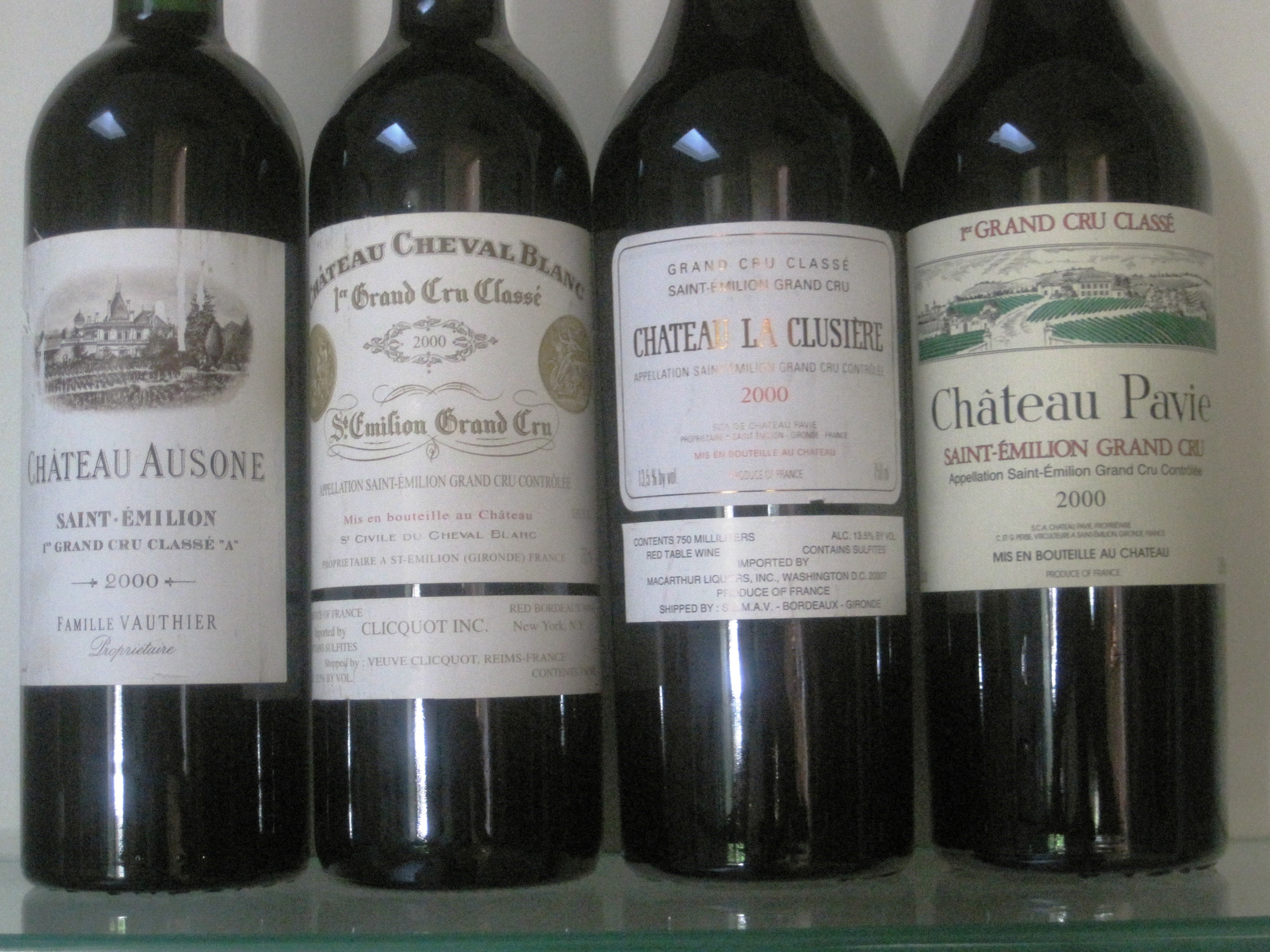 2000 Bordeaux 100 Pt Wines