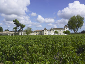Clos des Jacobins Chateau with clouds Copy 300x225 2010 Clos des Jacobins Harvest Interview with Thibaut Decoster