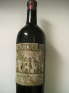 34 HB 225x300 Jean Philippe Delmas Haut Brion and other wines shared over dinner