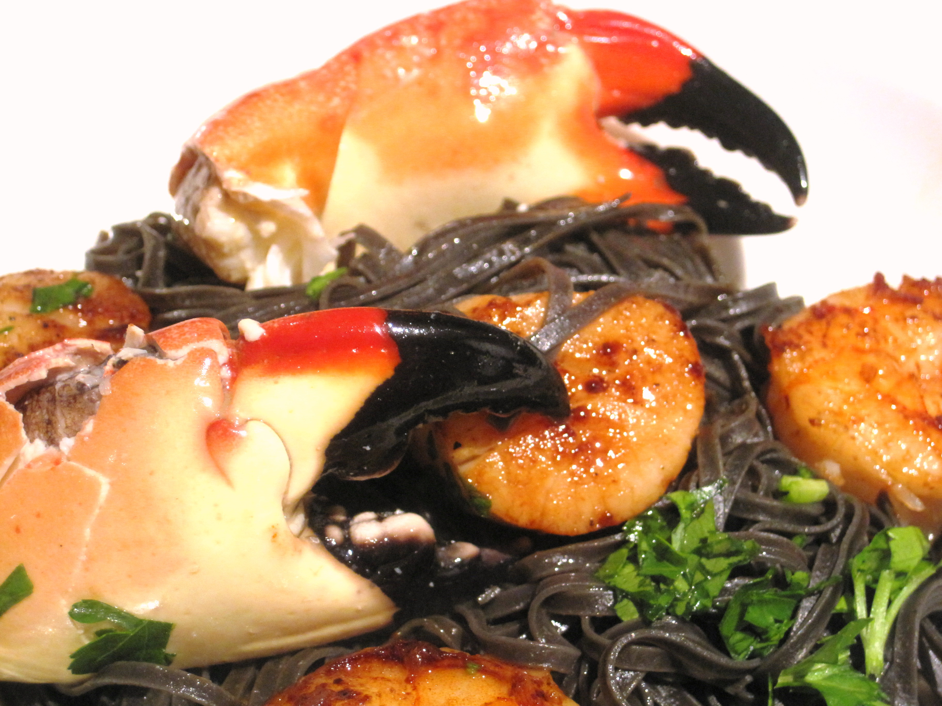 Squid Ink Shellfish