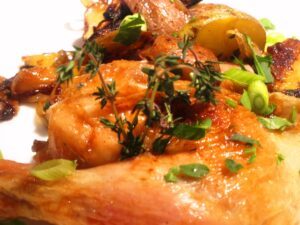 Chicken with herbs 300x225 Roast Chicken Bordeaux Wine a Perfect Wine and Food Pairing