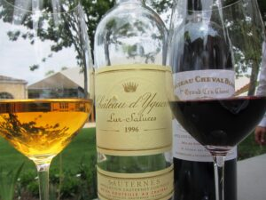 Cheval Blanc Wine Lunch with Yquem 300x225 2010 Cheval Blanc, High Prices, Stunning New Cellars in St. Emilion