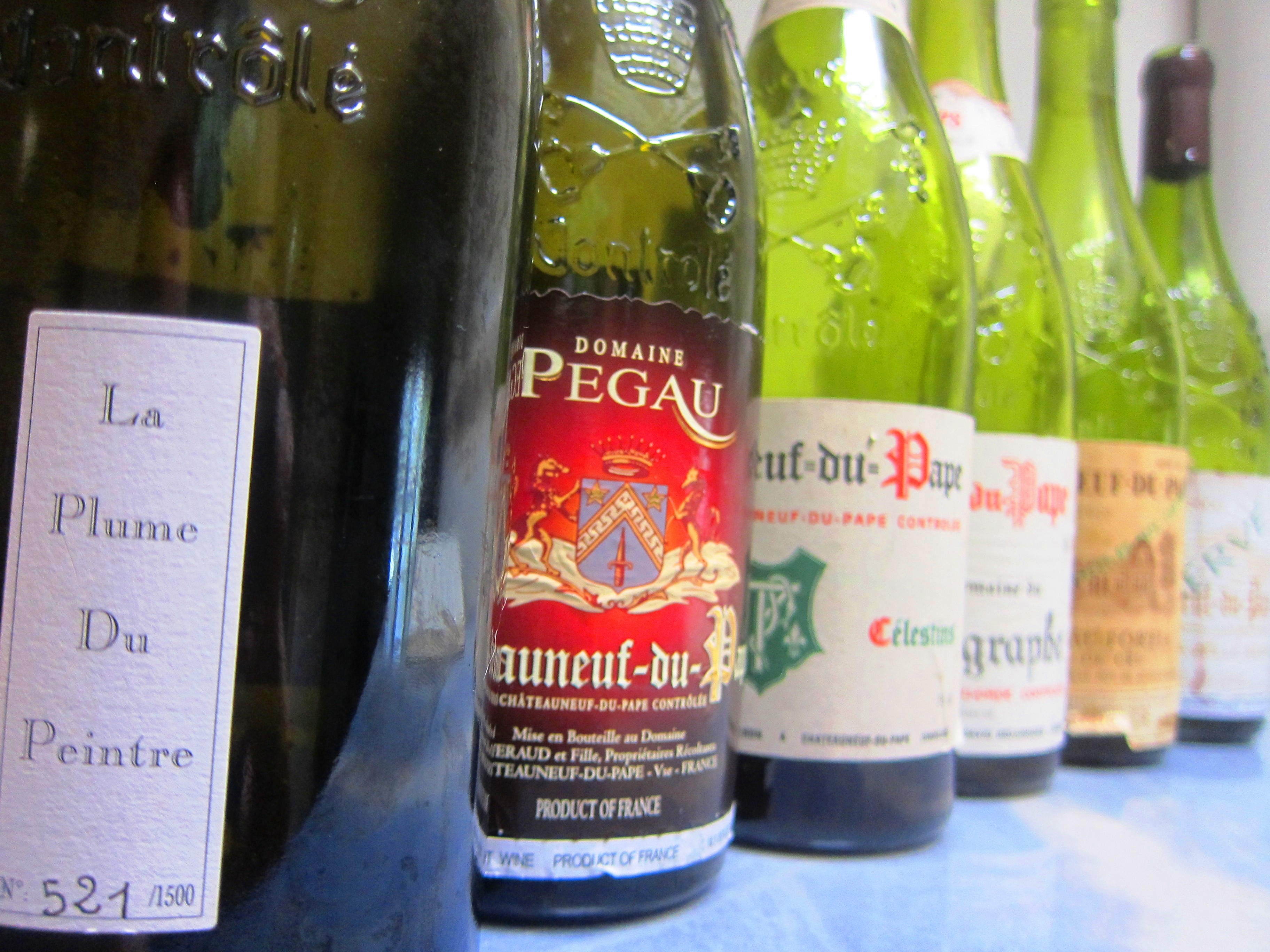 Chateauneuf du Pape wines