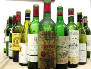7 Blind Men 1 wines 300x228 7 Blind Men Taste Bordeaux Rhone California Wine 1961 2001