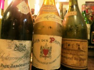 Devils CNDP 300x225 Amazing Wine, Bordeaux, Rhone 1928, 1929, 1945, 1947, 1959 & More