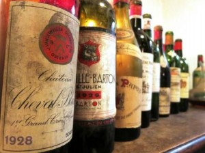 Devils line up 2 300x224 Amazing Wine, Bordeaux, Rhone 1928, 1929, 1945, 1947, 1959 & More