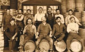 Caliornia wine history with barrels 300x184 Complete Napa Valley California Wine History from Early 1800s to Today