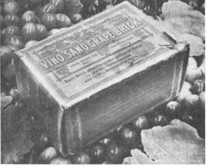 Prohibition grape bricks