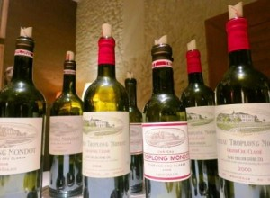 Troplong Mondot bottles 300x220 Troplong Mondot Yesterday and Today 3 Decades of Wine Tasted