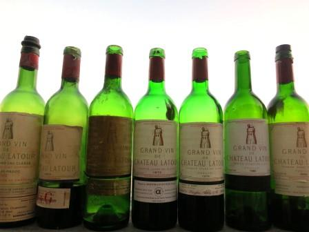 Chateau Latour 5 Decades in Pauillac, 1962 – 2002