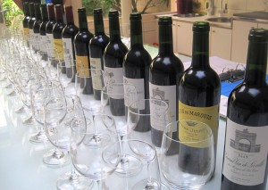 Las Cases tasting 300x213 Chateau Leoville Las Cases St. Julien Bordeaux Wine