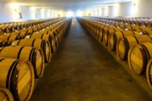 Mouton Rothschild Barrel Cellars 300x200 Baroness Philippine de Rothschild Passes Away at 80 Years of Age