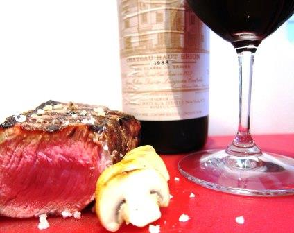 Bordeaux Wine Food Pairing