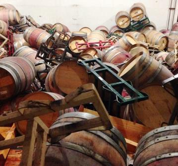 Napa Valley Earthquake Damage