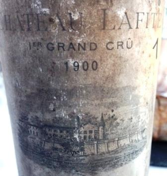 1900 Lafite Rothschild 2 The Top Ten Best Wines Tasted in 2016, and the Stories Behind the Wines